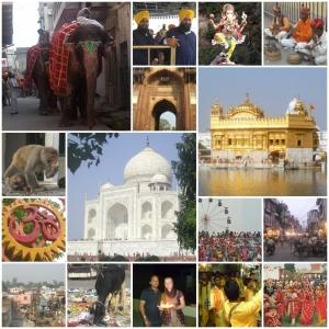 Fotocollage Indien