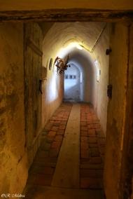 """Keine Burg kommt ohne ihre schaurige Geschichten aus dem Mittelalter aus. Auch nicht die Burg zu Burghausen. Im Folterturm werden heute diverse Exponate der Folter""""kunst"""" ausgestellt."""